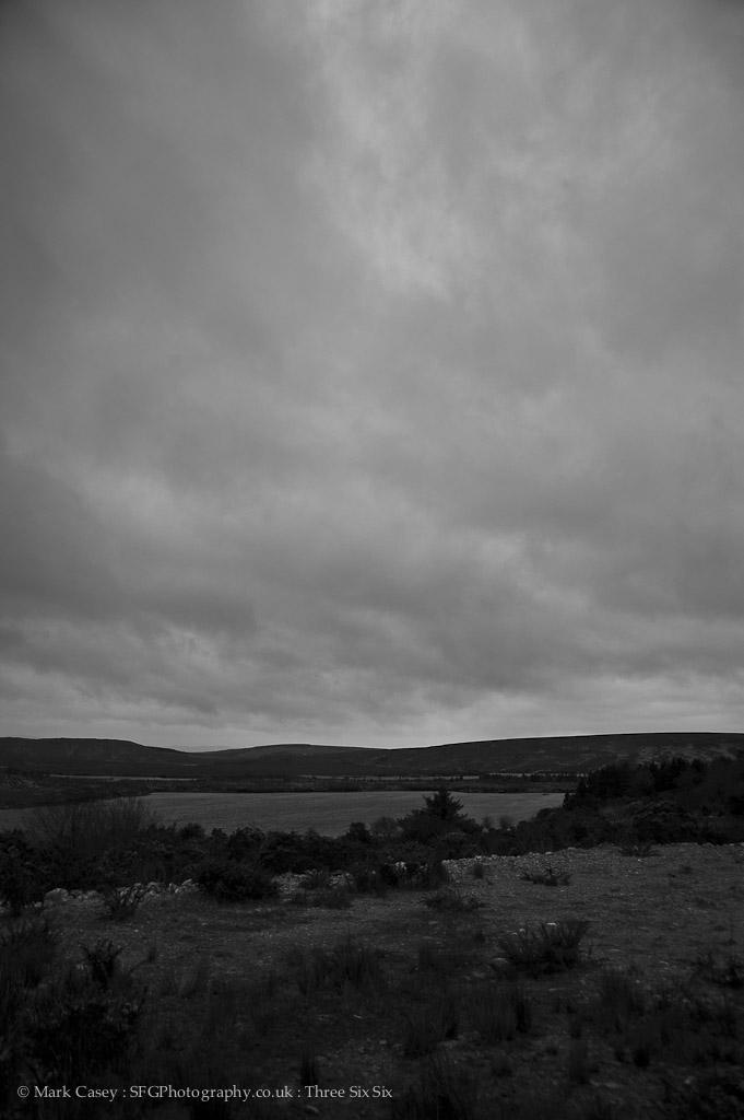 366-176 - Black and White Skyscape