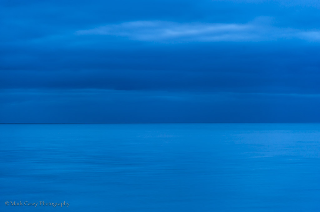 Blue Hour Horizon Line