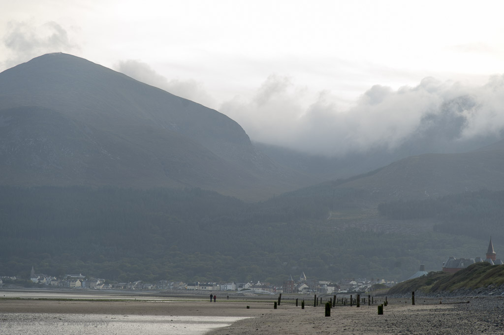 Clouds over the Mournes
