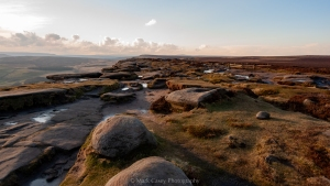 Along Stanage Edge